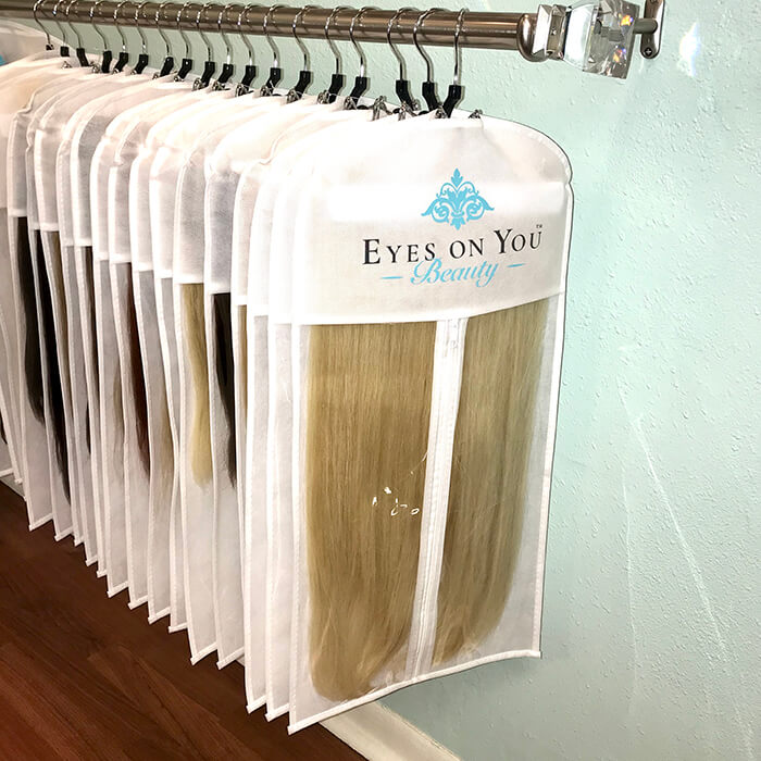 Hair Extension Case And Hanger